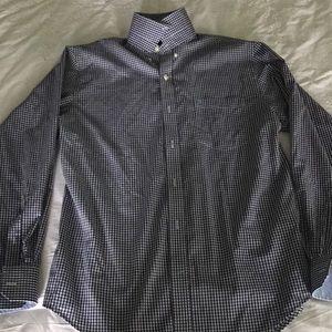Men's Checkered Button-down